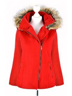 Płaszcz Rosa True Red