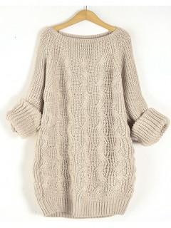 Sweter Pola Beige