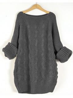 Sweter Pola Dark Grey