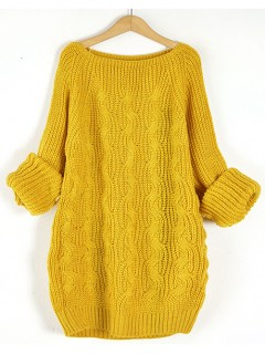 Sweter Pola Mustard