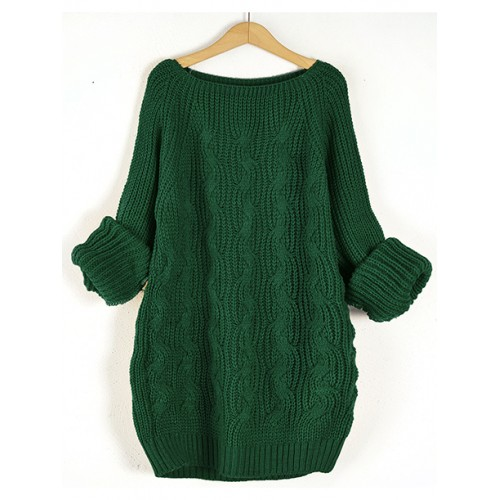 Sweter Pola Emerald