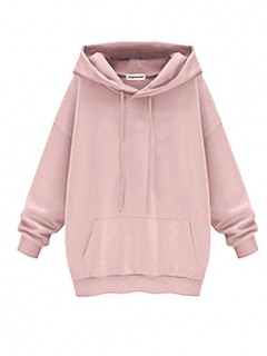 Bluza Basic Pastel Pink