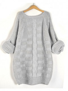 Sweter Kate Light Grey