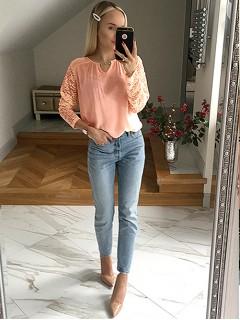Bluzka Kolia Apricot