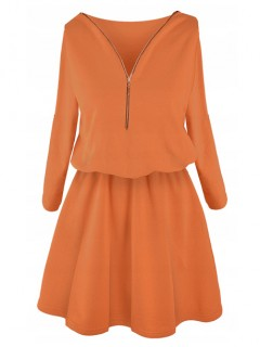 Sukienka ZIP Cinnamon