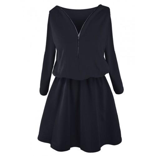 Sukienka ZIP Navy Blue