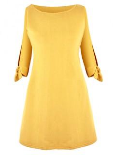 Sukienka Victoria Mustard