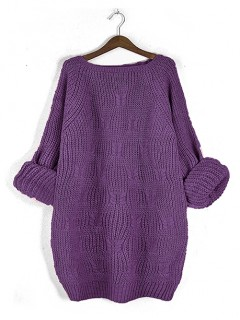 Sweter Ana Plum