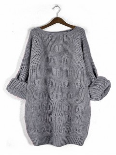 Sweter Ana Stylish Grey