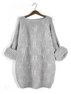 Sweter Ana Light Grey