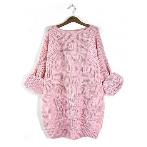 Sweter Ana Pastel Pink