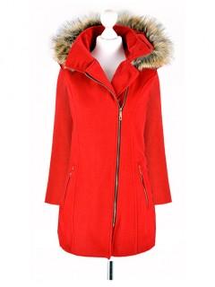 Płaszcz ZIP Red