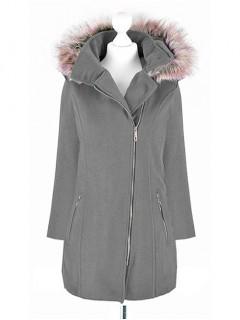 Płaszcz ZIP Dark Grey