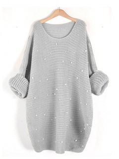 Sweter Perły Stylish Grey