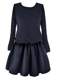 Sukienka Premium Navy Blue