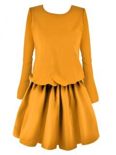 Sukienka Premium Mustard