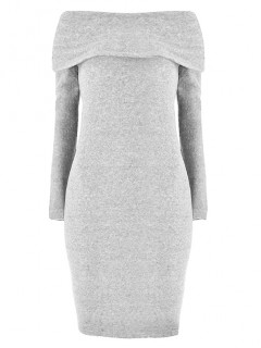 Sukienka Rita Pastel Grey