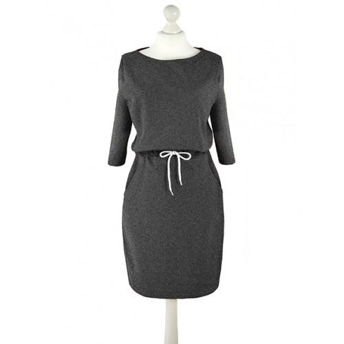 Sukienka Troczek Graphite