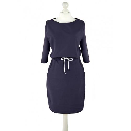 Sukienka Troczek Navy Blue