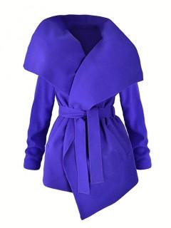 Płaszcz Flausz Cobalt