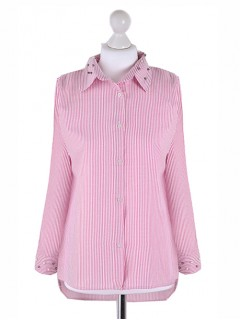 Koszula Perełki Pink