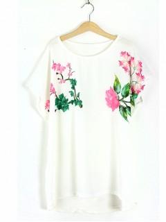 Bluzka Rose  White