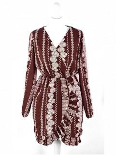 Sukienka Aztec Burgundy