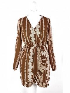 Sukienka Aztec Brown