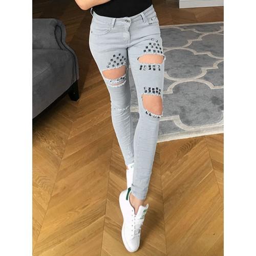 Spodnie 3D Grey