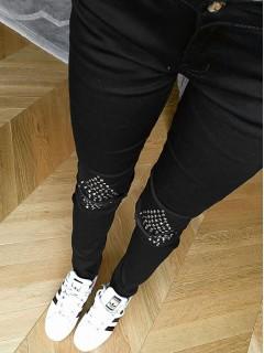 Spodnie Ćwieki Black