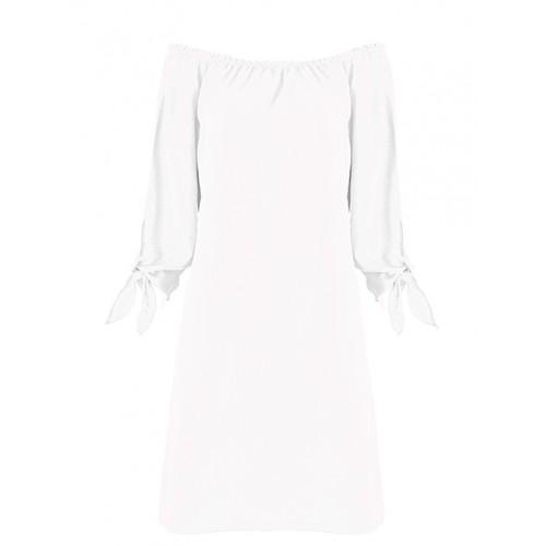 Sukienka Hiszpanka Premium White