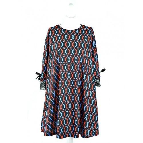 Sukienka OneSize Siatka Navy Blue