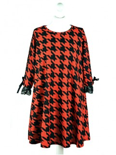 Sukienka OneSize Pepitka Red