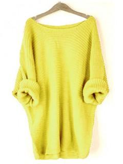 Sweter Lisa Cytrynowy