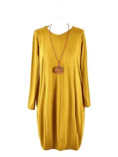 Sukienka Gwiazda Yellow