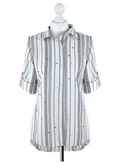 Koszula Pasy Grey