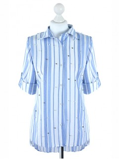 Koszula Pasy Blue