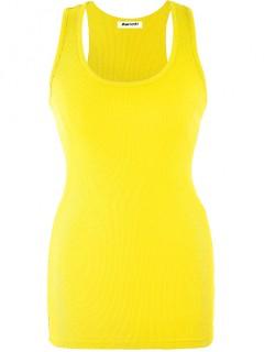 Bokserka Prążek Neon Yellow