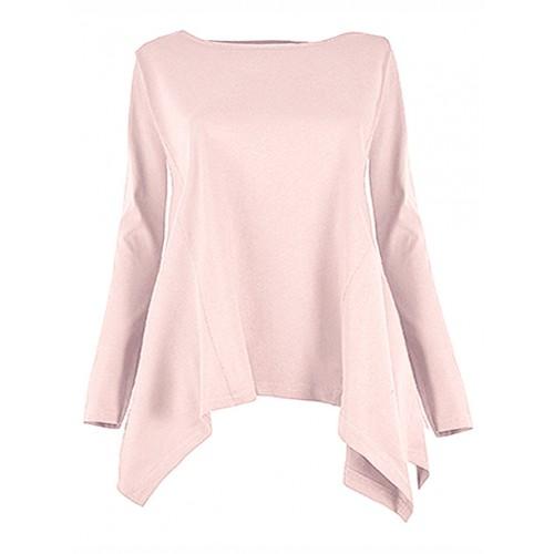 Bluzka Rogi Pastel Pink