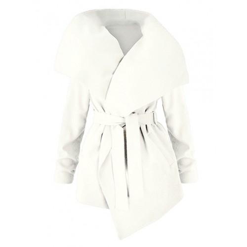 Płaszcz Flausz Wrap Vanilla