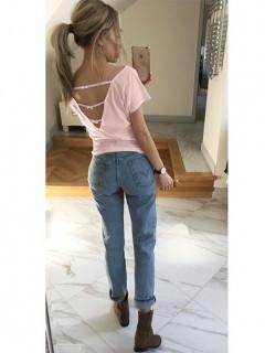 Bluzka Mali Pastel Pink