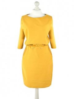 Sukienka Elena Mustard