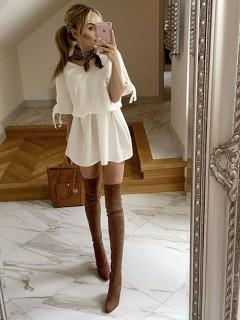 Sukienka Tasiemka Vanilla