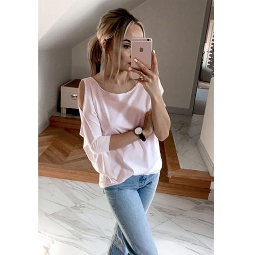 Bluzka Łezka Pastel Pink