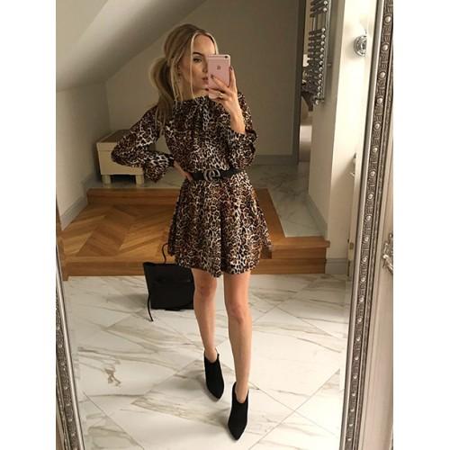 Sukienka Toscana Karmelowa