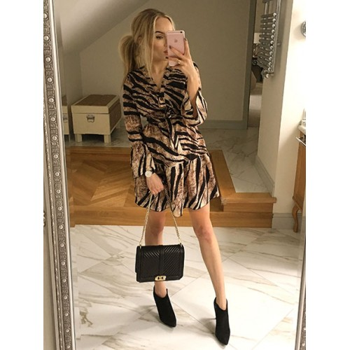 Sukienka Italy Tygrys
