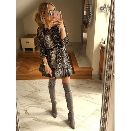Sukienka Italia Grey