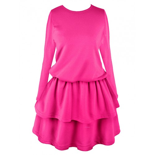 Sukienka Princess Light Neon Pink