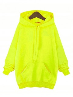 Bluza Basic Neon Yellow