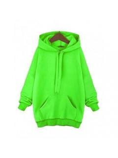 Bluza Troczek Basic Zielony Neon